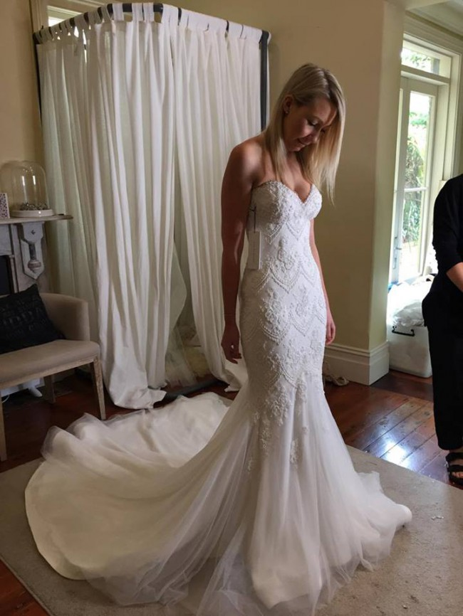 Leah da gloria preowned wedding dress on sale 72 off for Leah da gloria wedding dress cost