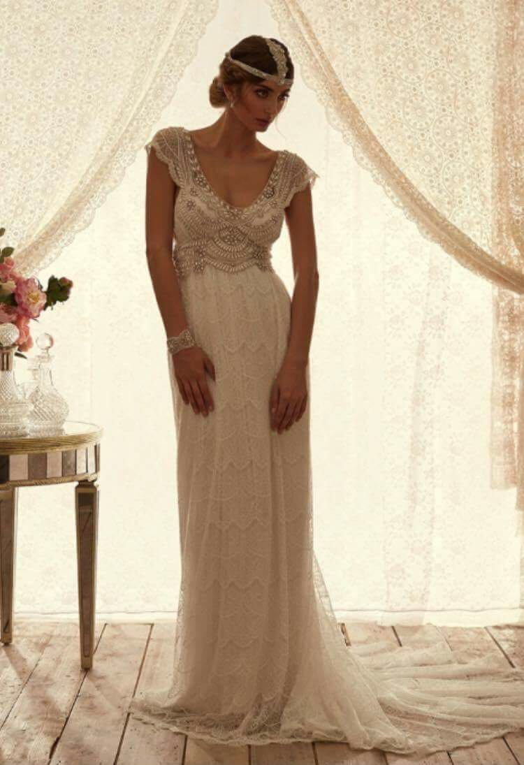 Anna campbell coco lace used wedding dresses stillwhite for Anna campbell wedding dress used
