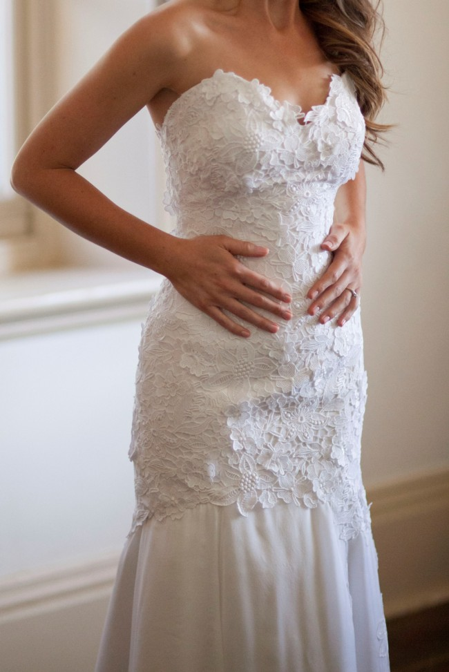 Liza Emanuele Custom Design Second Hand Wedding Dress On