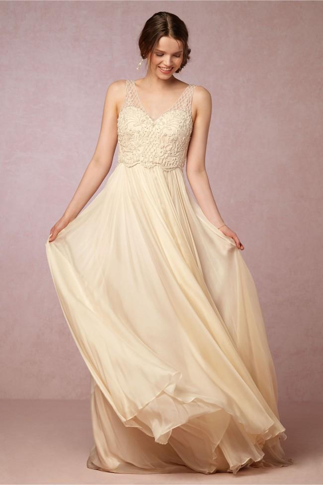 Catherine Deane Ostara Gown (STYLE #39363197) BHLDN - Sample Wedding ...