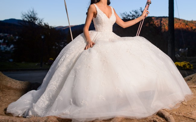 Ersa Atelier Laura Preowned Wedding Dress On Sale 64 Off