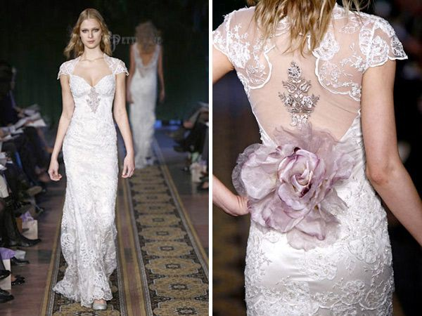 Claire pettibone mystere second hand wedding dresses for Where to buy claire pettibone wedding dress