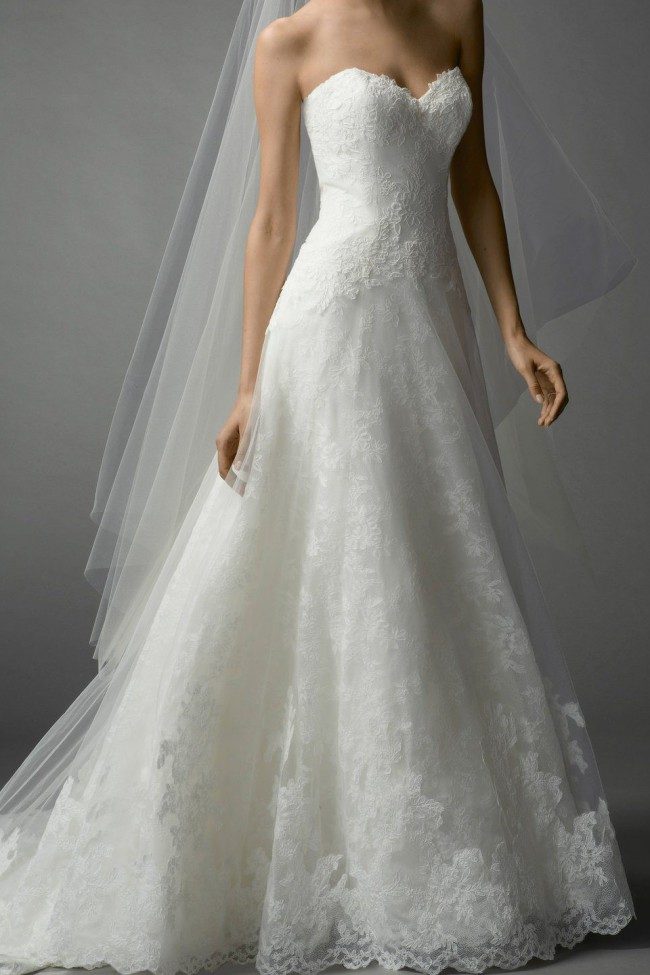 Watters, Style #FARRINXS ROMANTIC A-LINE WEDDING DRESS