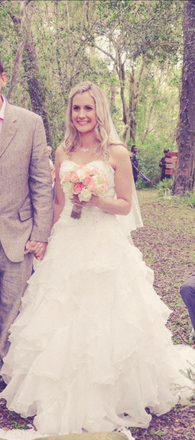 Ball Gown Used Wedding Dress on Sale 71% Off - Stillwhite