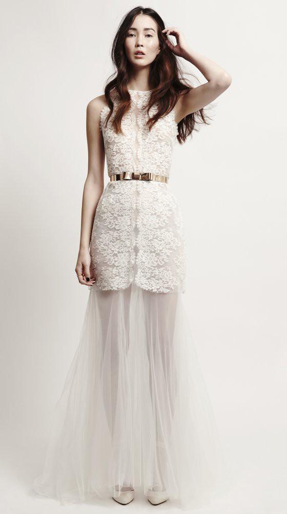 Barely there 55 sheer wedding dress styles kaviar gauche junglespirit Gallery