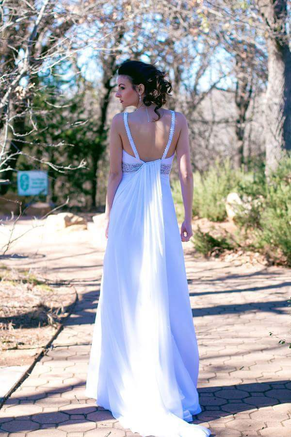 Christian michele candlelight 8022w new wedding dress on for Christian michele wedding dress