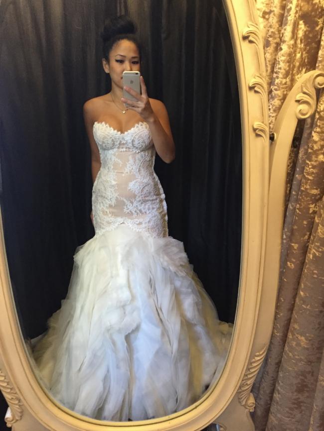 Jaton Custom Made Wedding Dress On Sale 76 Off