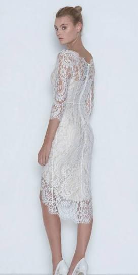 Lover horizon lace dress white