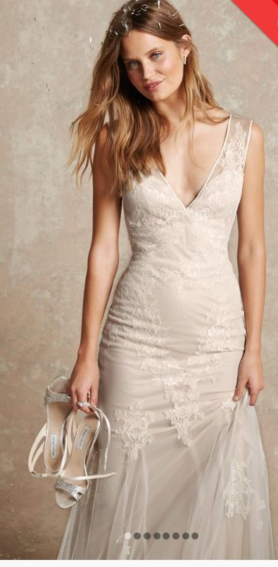 Monique Lhuillier BL1502 PreOwned Wedding Dress on Sale 66% Off