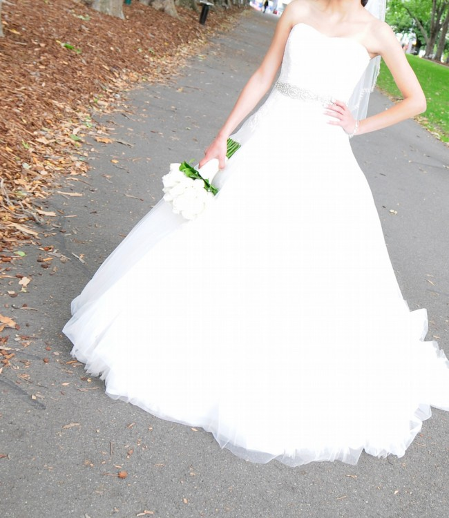 After Six Mimosa Gown Off White New Wedding Dress On Sale