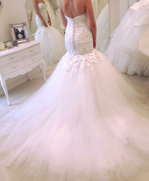 Suzanna blazevic pre owned wedding dress on sale 38 off for Suzanna blazevic wedding dresses