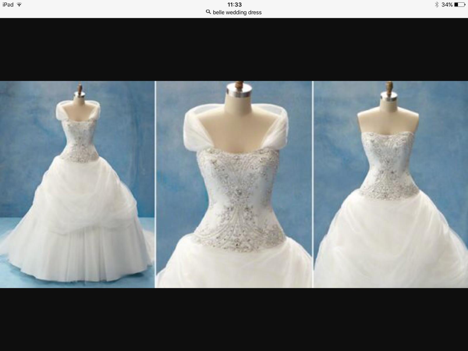 Alfred Angelo BELLE DISNEY PRINCESS STYLE 206 New Wedding Dress on ...