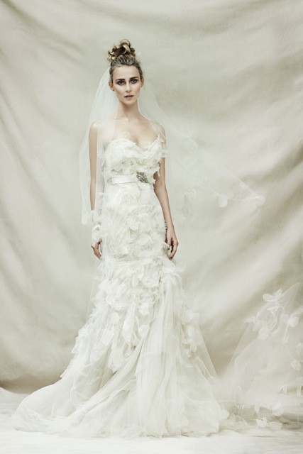 Pallas Couture Mouchette Wedding Dress On Sale 79 Off
