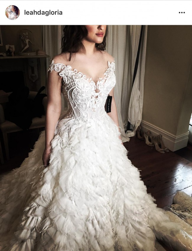 Leah da gloria second hand wedding dress on sale 36 off for Leah da gloria wedding dress cost