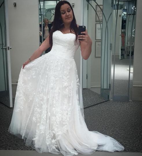 Melissa Sweet A-Line Melissa Sweet Wedding Dress on Sale 34% Off