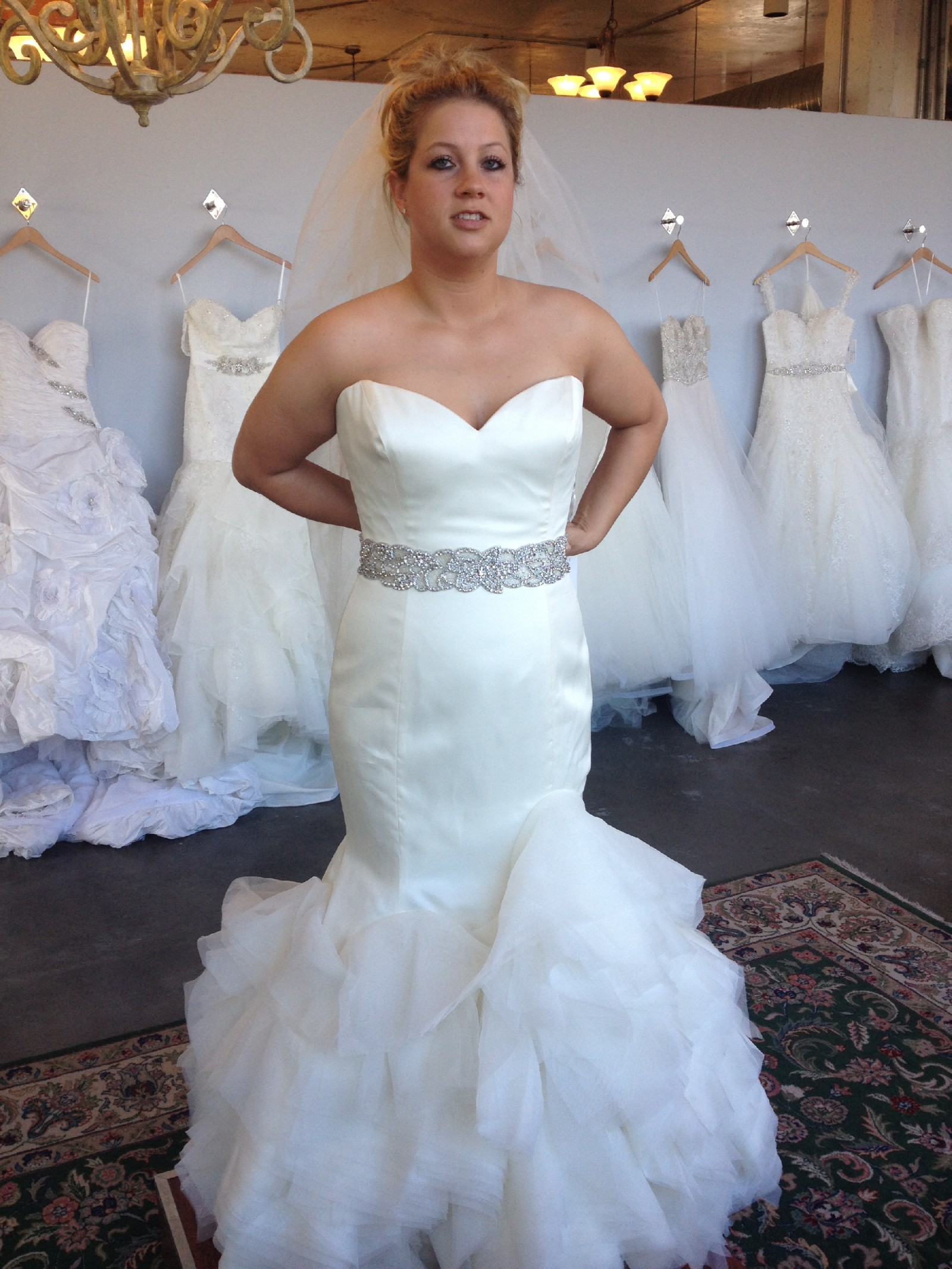 Lazaro LZ3312 Wedding Dress on Sale 56% f