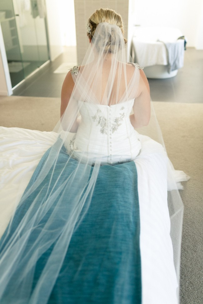 Catherine R Couture Custom Made Used Wedding Dress on Sale 47% Off