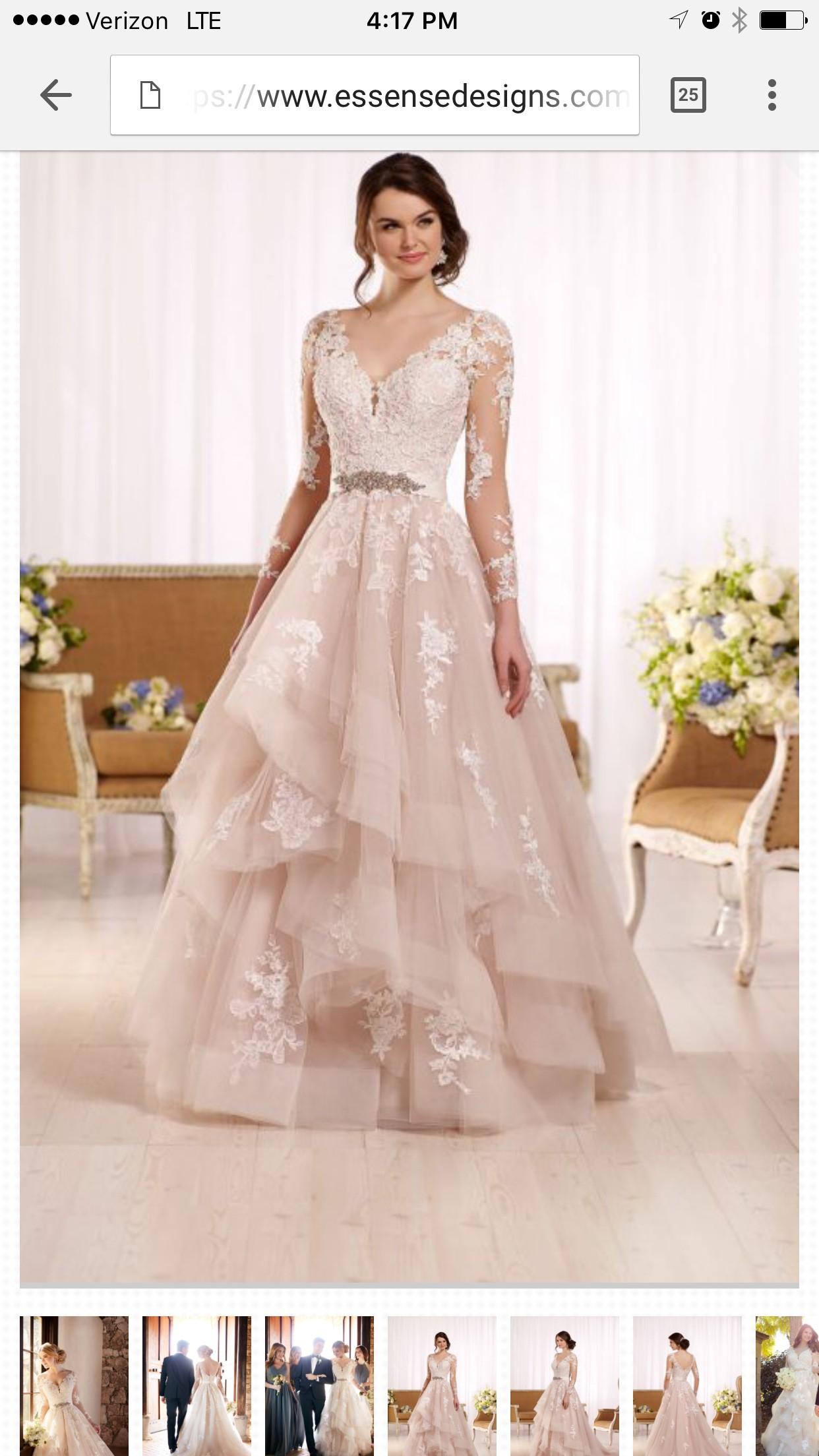 Essense of Australia Essence D2186 - New Wedding Dresses - Stillwhite