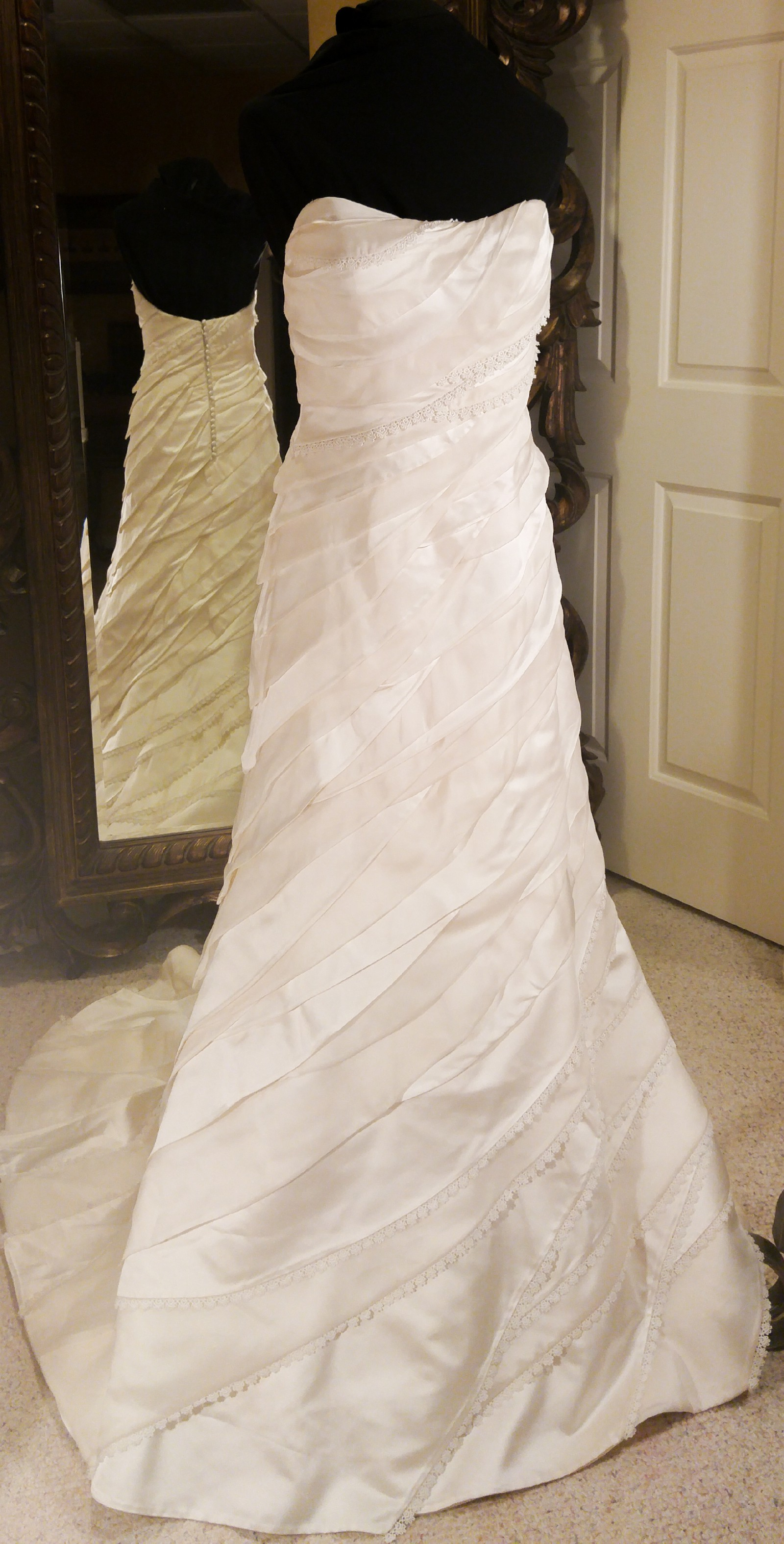 Matthew christopher 2907 new wedding dress on sale 95 off for Matthew christopher wedding dress prices