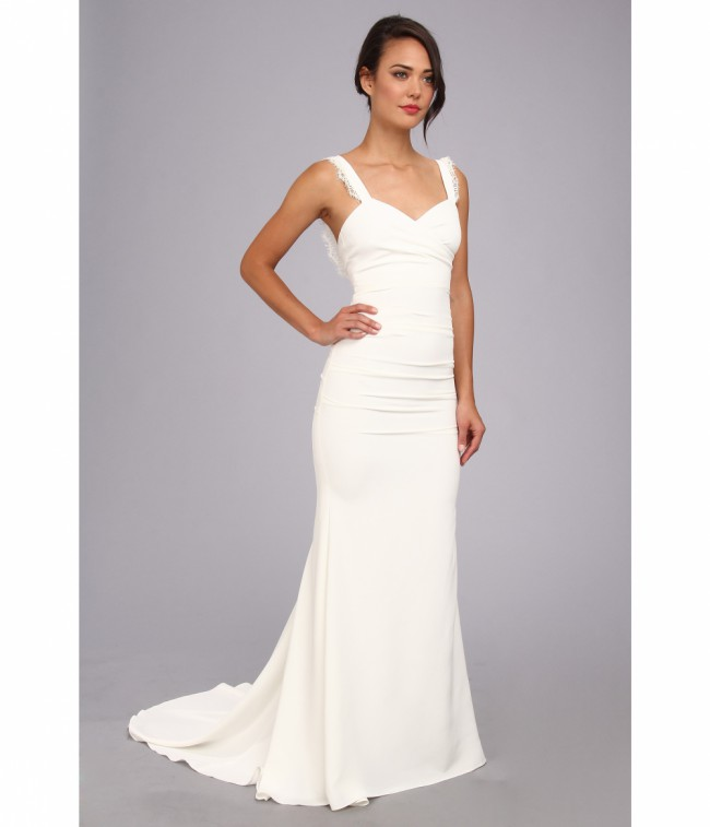 Nicole Miller Alexis Bridal Gown New Wedding Dress On Sale