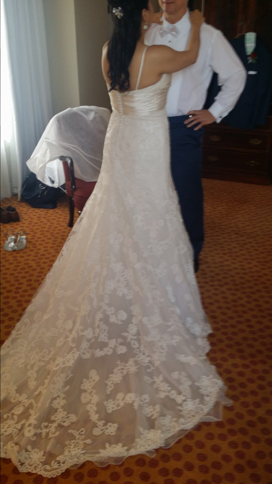 Casablanca cb couture b047 preowned wedding dress on sale for Cb couture wedding dresses