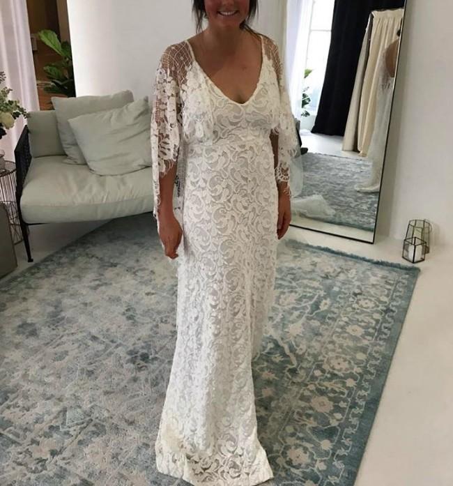Grace Loves Lace Verdelle 2.0 New Wedding Dress On Sale 15