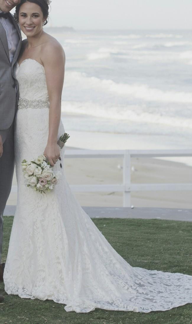 Low Back Wedding Dresses Sydney : Tanya anic custom made wedding dress on sale off