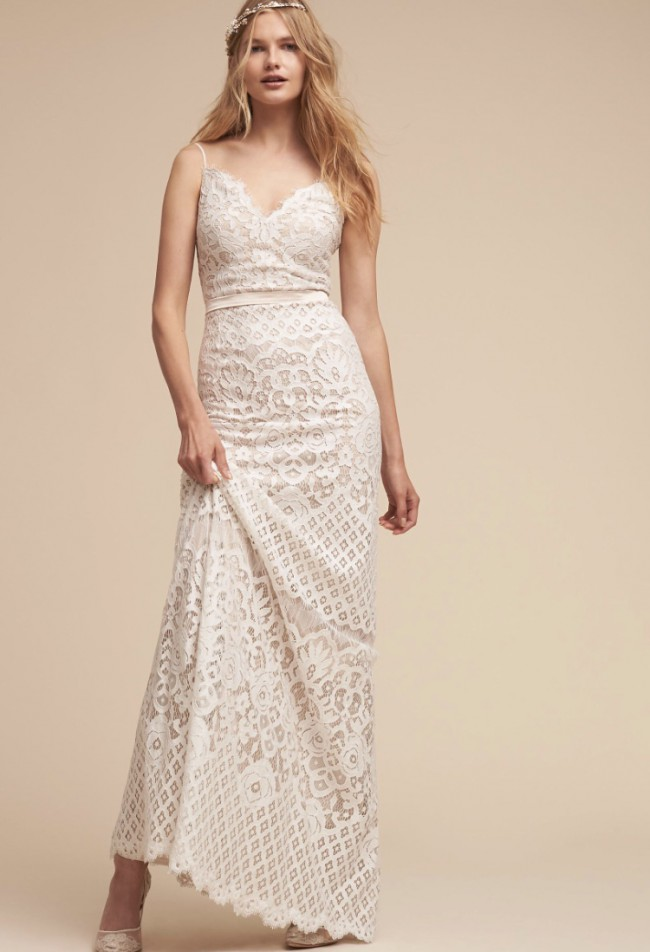 Tadashi Shoji Evenson Gown New Wedding Dress on Sale 29% Off ...