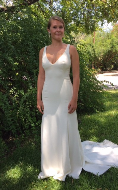 Watters Leona 1030B Sample Wedding Dress on Sale 61% Off