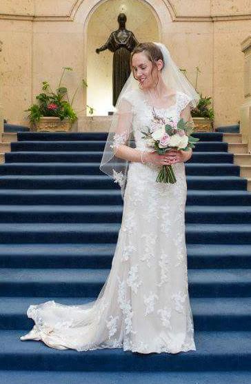 Sincerity Bridal 3785 Used Wedding Dress on Sale 61% Off - Stillwhite