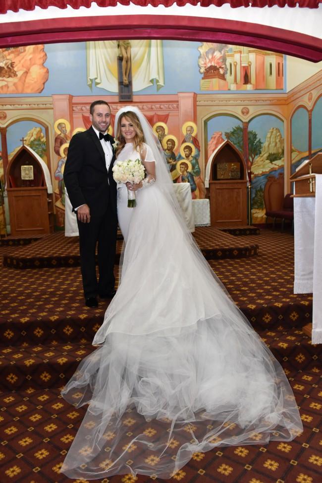 ryan walter bridal custom made preowned wedding dress on