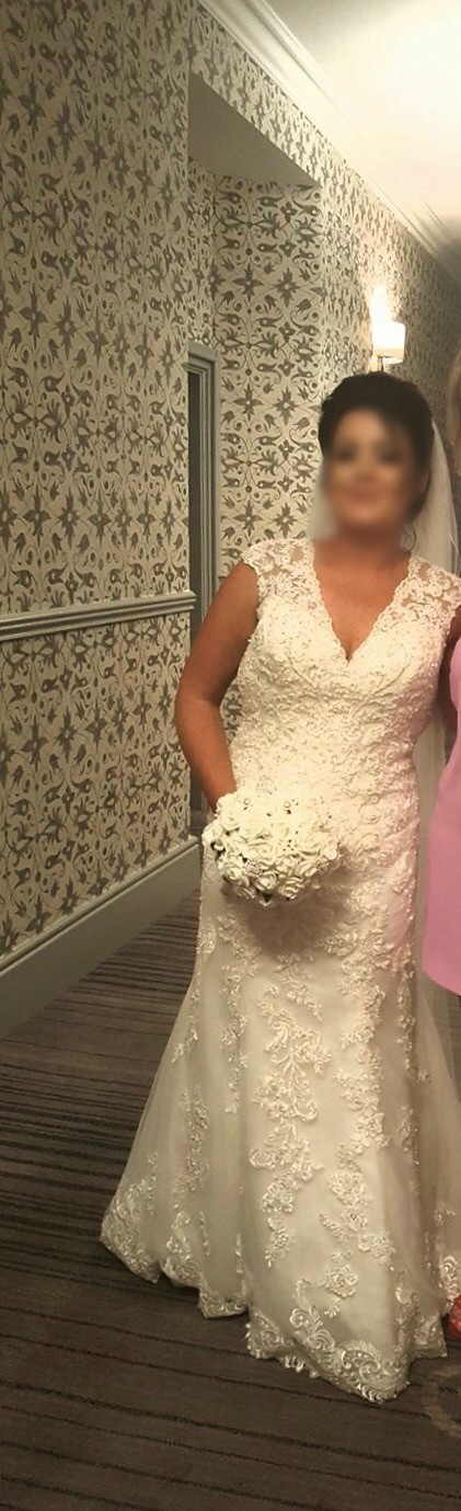 Morilee 2806 second hand wedding dress on sale 79 off for Second hand mori lee wedding dresses