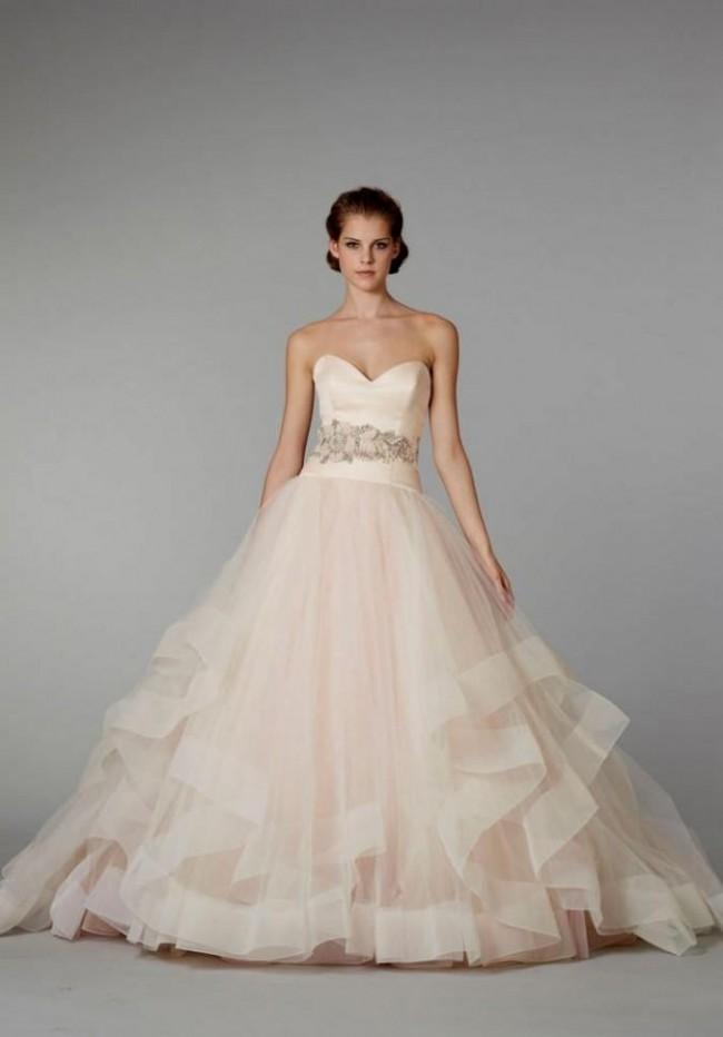 Charming Lazaro, Sherbert Ball Gown: Lazaro Style 3250