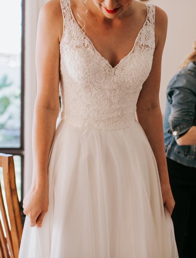 Allure Bridals 2802 Allure Romance Bridal Gown - Used Wedding ...