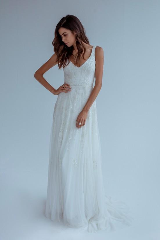 Karen Willis Holmes Beatrice Wedding Dress On Sale 70 Off