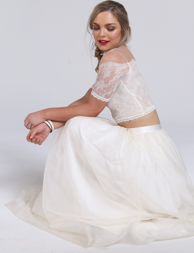 White Meadow Bridal Wild At Heart Top Only