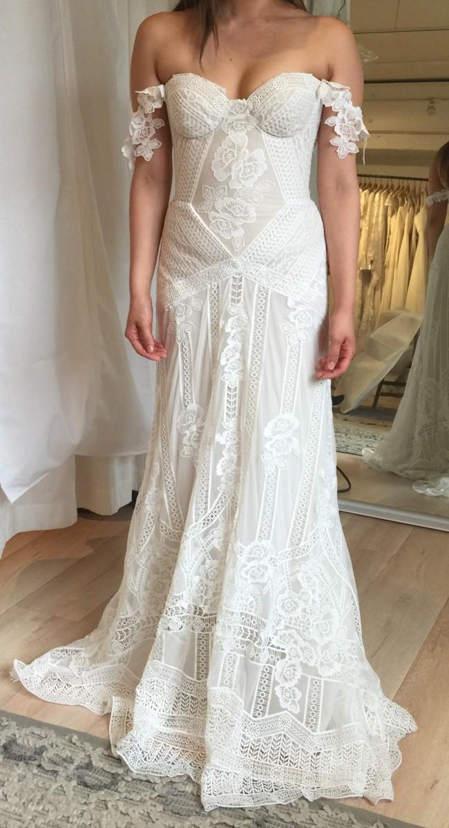 Rue De Seine Fox Gown New Wedding Dress On Sale 7 Off