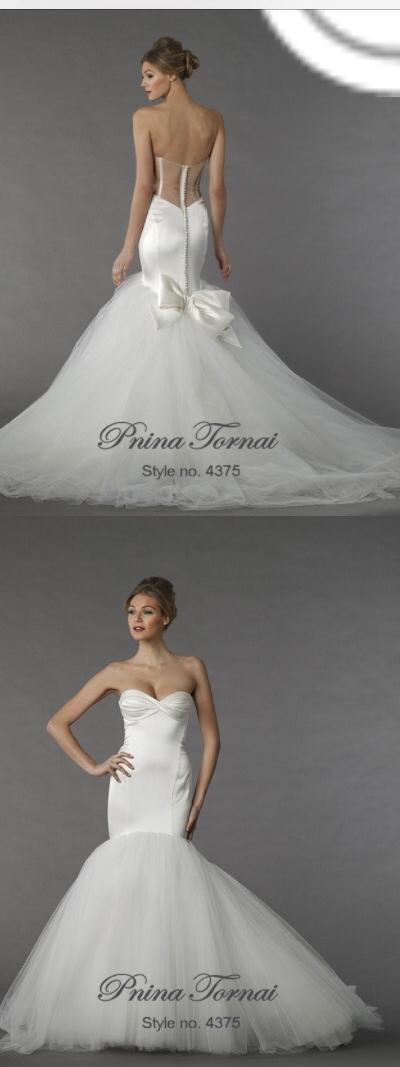 Pnina tornai 4375 wedding dress on sale 47 off junglespirit Image collections