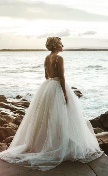 25 low back wedding dresses darb bridal couture junglespirit Gallery