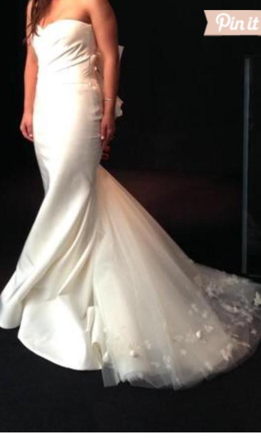 Professional Wedding Dress Cleaning 31 Vintage Vera Wang Nisha IVORY