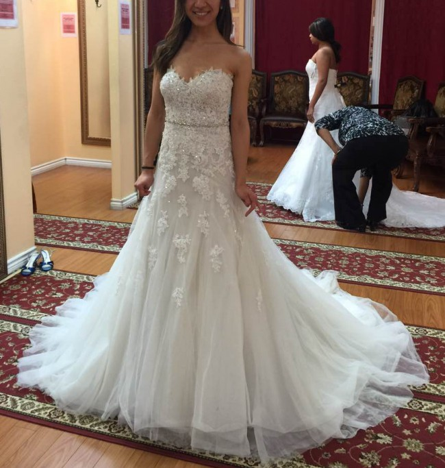 Cost Of Sophia Tolli Wedding Gowns: Sophia Tolli Prinia Preowned Wedding Dress On Sale 61% Off