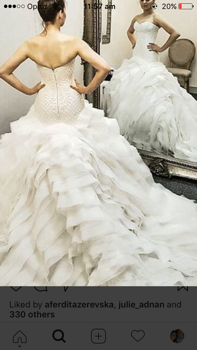 d1537d2f491 Zian Couture Custom Made Preloved Wedding Dress on Sale 30% Off ...