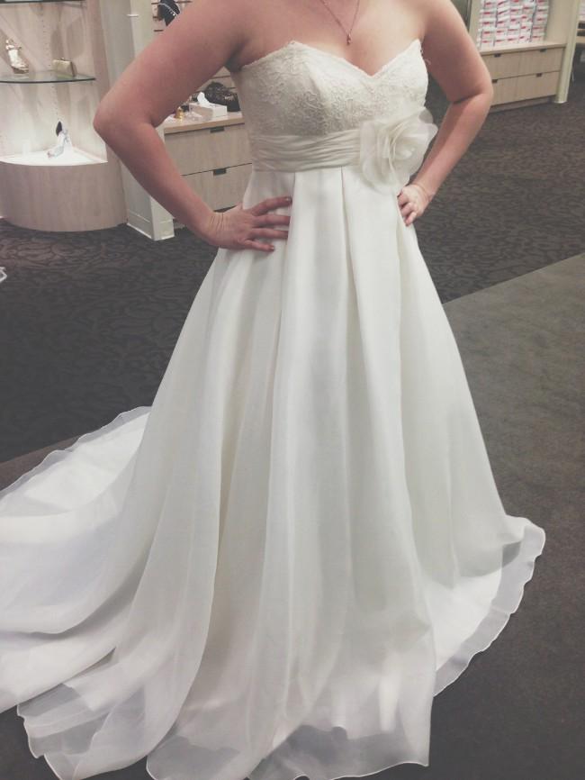 Davids bridal galina kp3694 new wedding dress on sale 80 off davids bridal galina kp3694 junglespirit Choice Image