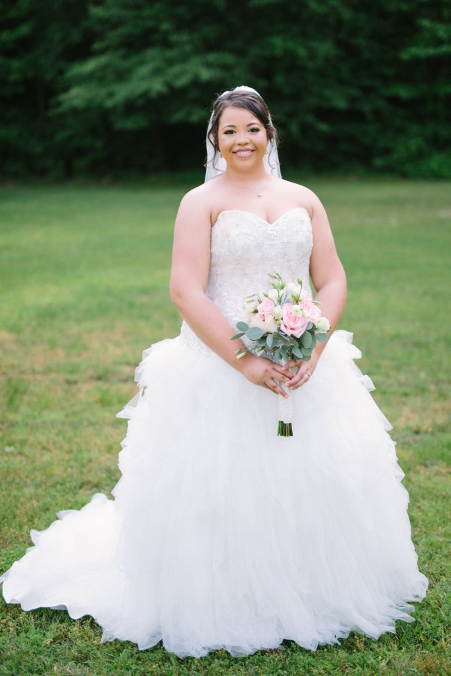 David 39 s bridal tulle plus size wedding dress with ruffled for David s bridal tulle wedding dress