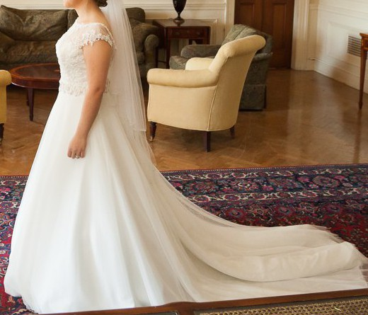 Madeline gardner 5362 second hand wedding dress on sale 50 for Second hand wedding dresses london
