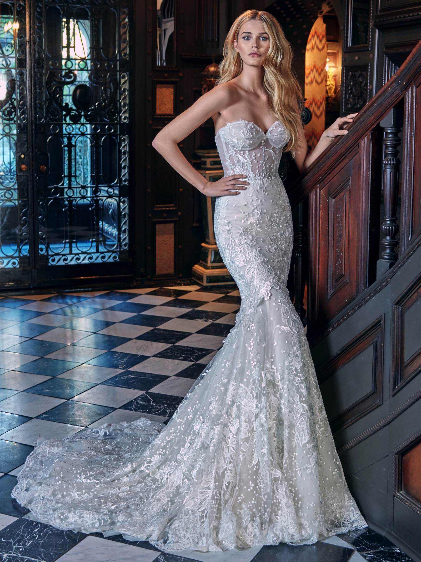galia lahav lidya (le secret royal resort 2017 collection) wedding