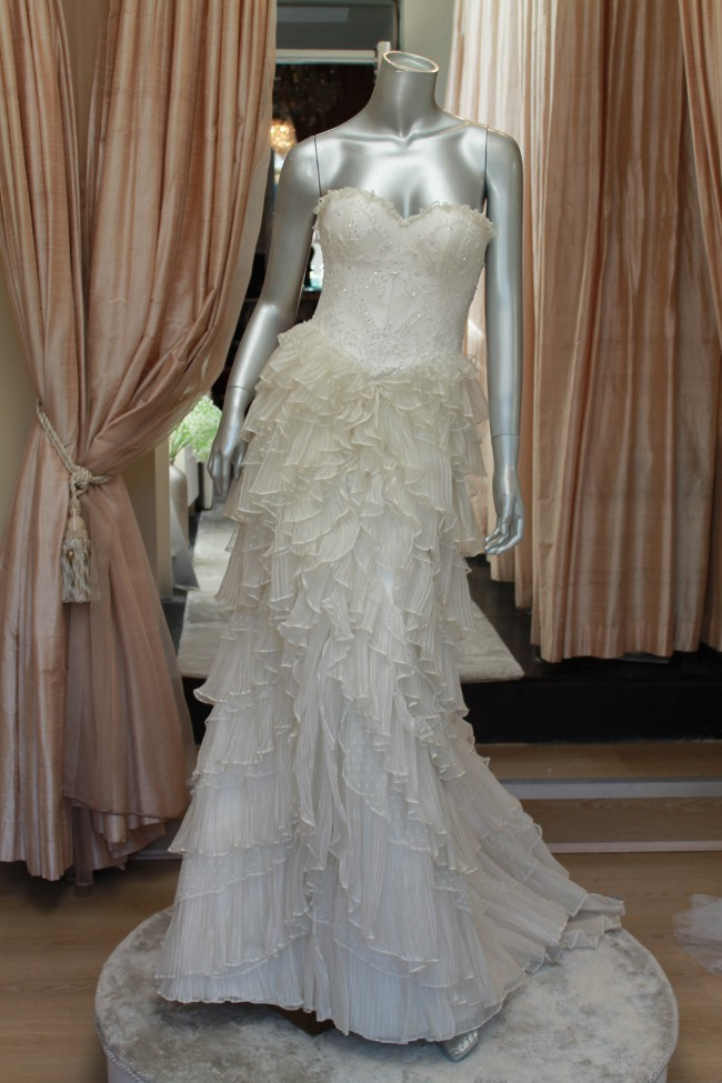 Rosalynn Win Haute Couture LEsperance Gown Wedding Dress On Sale 52 Off