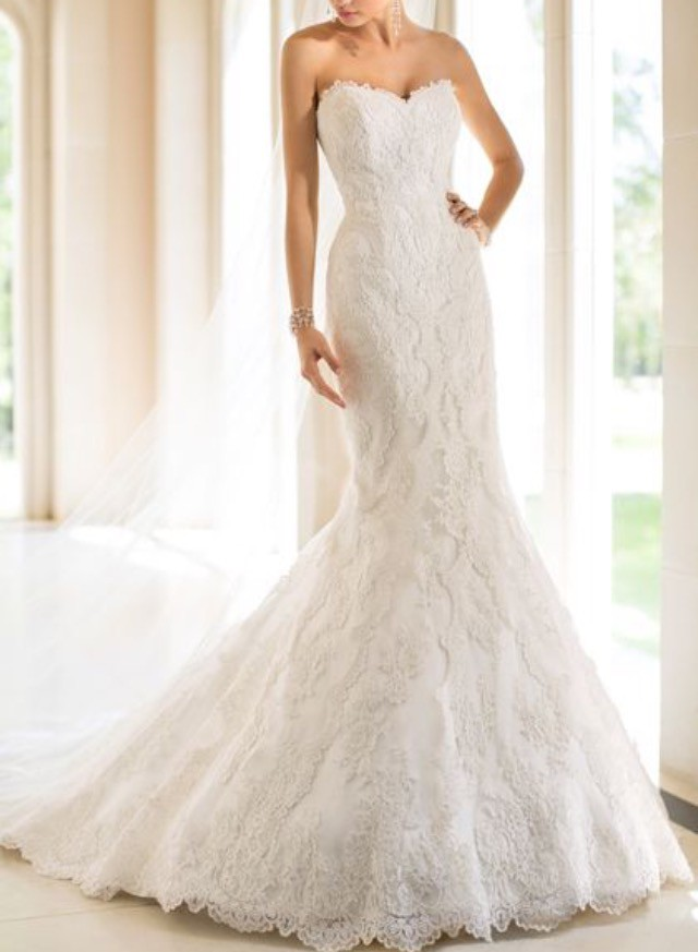 Stella york 5840 second hand wedding dress on sale 54 off for How much do stella york wedding dresses cost