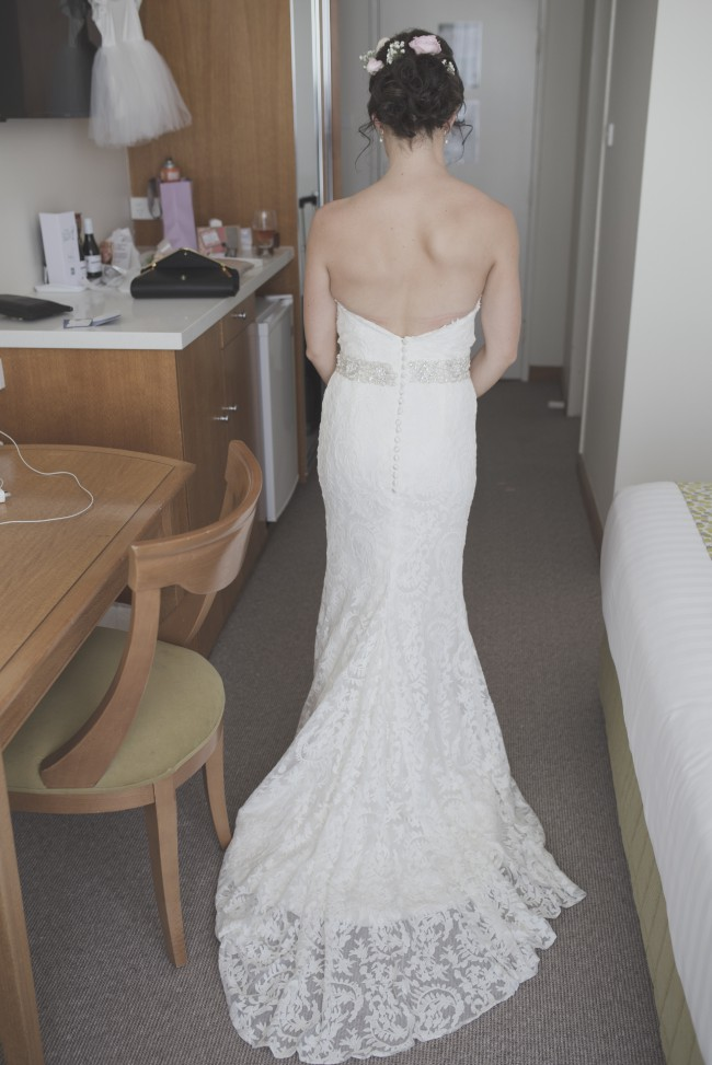 Low Back Wedding Dresses Sydney : Tanya anic custom made wedding dress on sale off