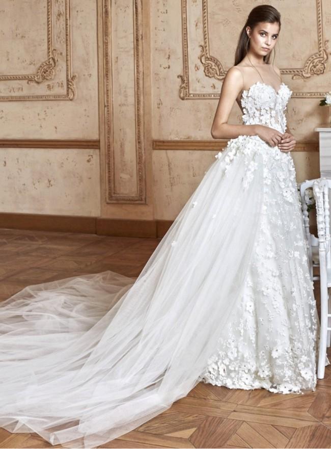 Tarik Ediz G2065 Preowned Wedding Dress on Sale 67% Off - Stillwhite